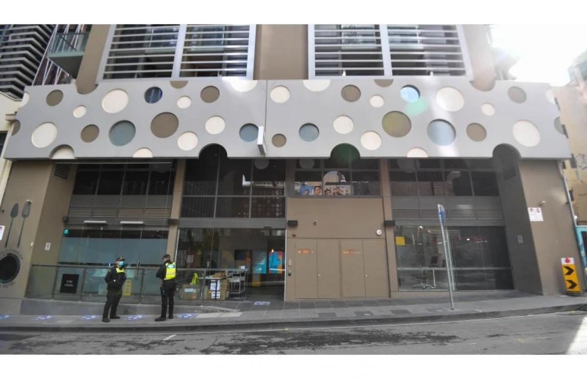 Khách sạn Brady tại trung tâm thành phố Melbourne. Nguồn: Joe Armao.