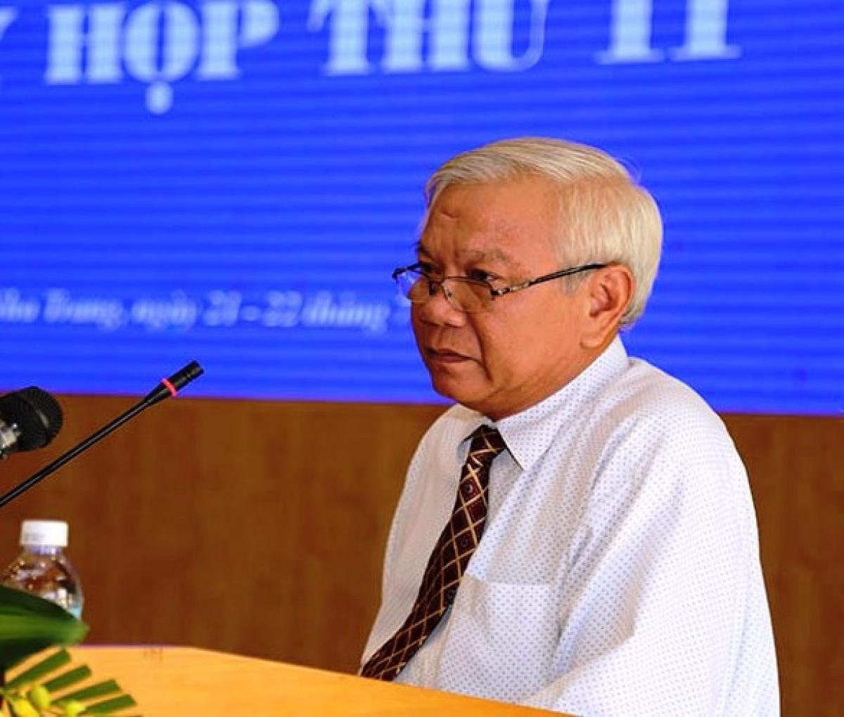 Ông Lê Văn Dẽ.