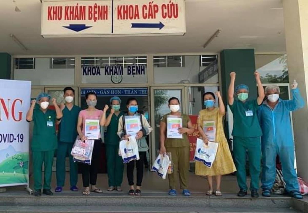 4 bệnh nhân mắc Covid-19 được công bố khỏi bệnh.