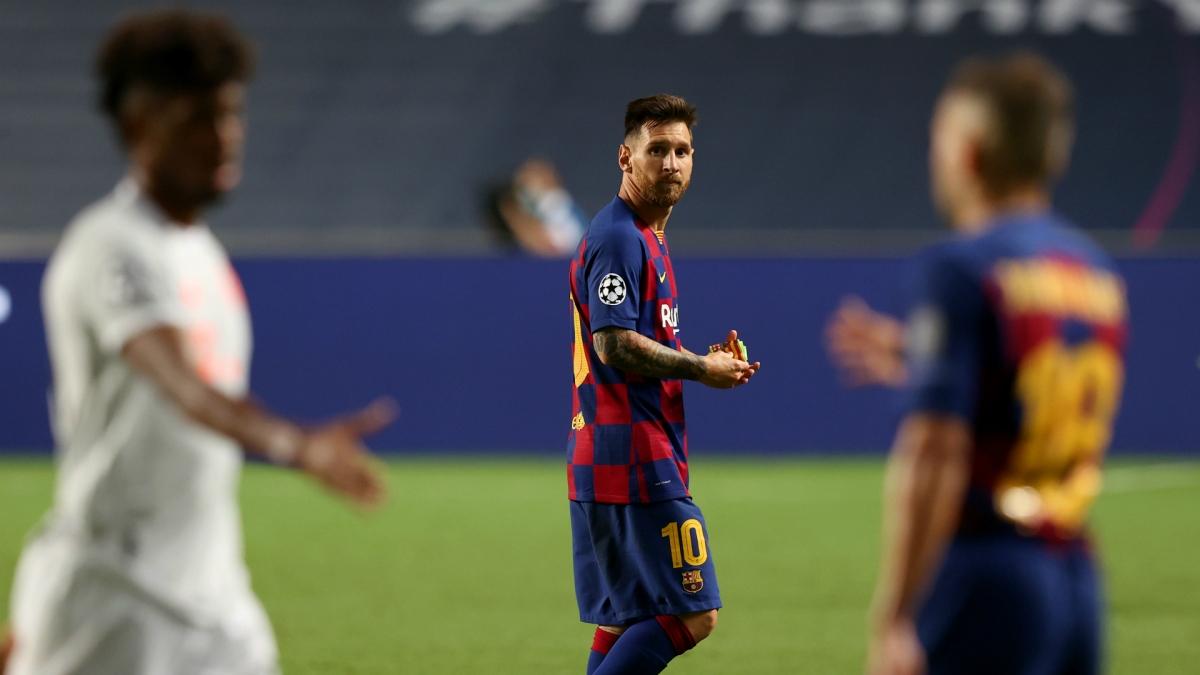 """Ở tuổi 33, Lionel Messi không """"gánh"""" nổi Barca đương đầu với sức mạnh toàn diện của Bayern Munich."""
