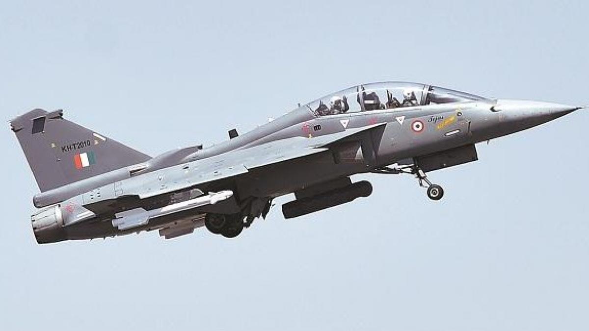 Máy bay chiến đấu hạng nhẹ MK-1A. Ảnh: PTI