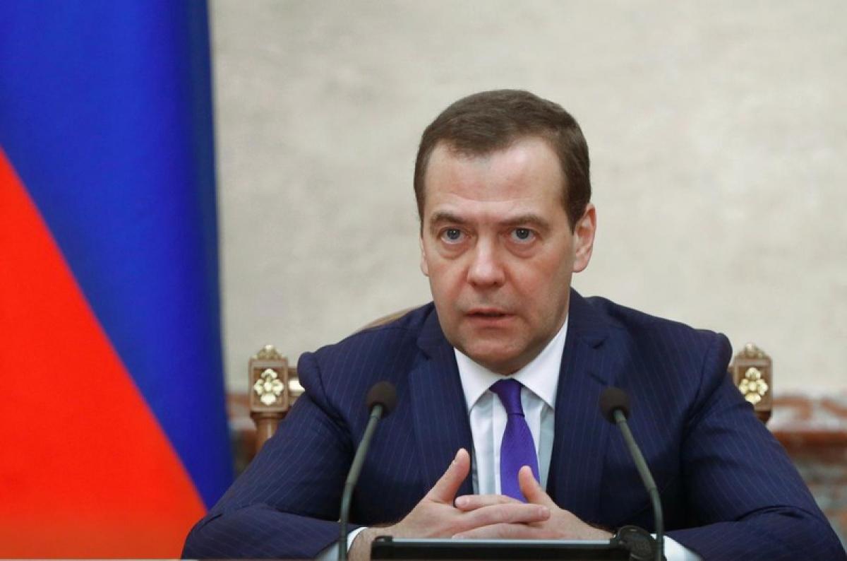 Phó Chủ tịch Hội đồng an ninh Liên bang Nga Dmitry Medvedev. Ảnh: Reuters