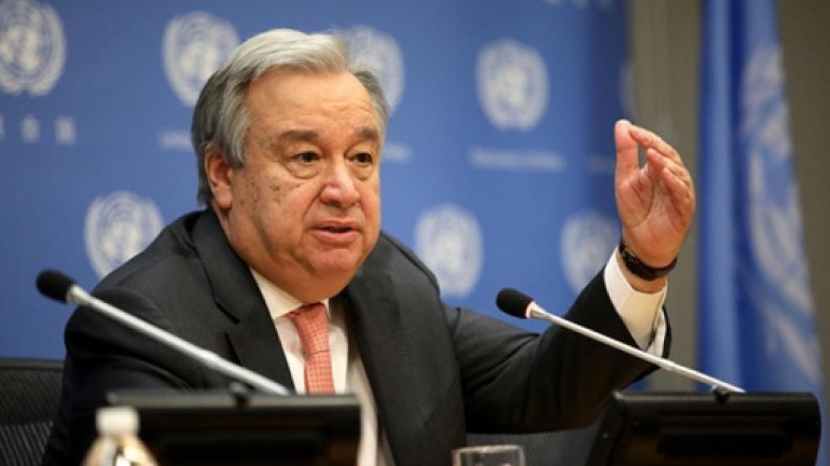 Tổng thư ký Liên Hợp Quốc Antonio Guterres. (Ảnh: NPR)