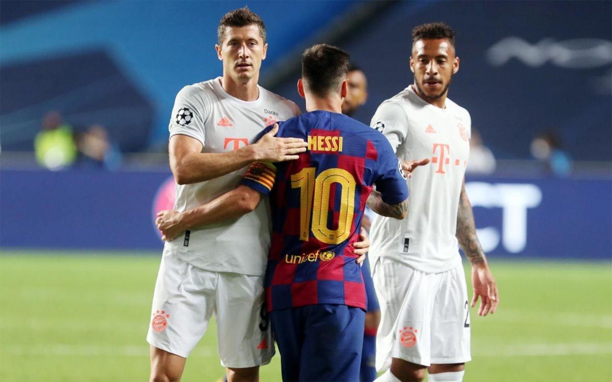 """Bình luận trên sóng truyền hình, cựu danh thủ Rio Ferdinand cho rằng đã đến lúc Lionel Messi nên rời khỏi Barca: """"Messi có thời gian để ngồi đó và chờ không? Bóng đá là một trò chơi đến và đi rất nhanh trong cuộc sống của bạn. Liệu cậu ấy có muốn tiếp tục với Barca, mà không thực sự có thể cạnh tranh các danh hiệu?"""""""