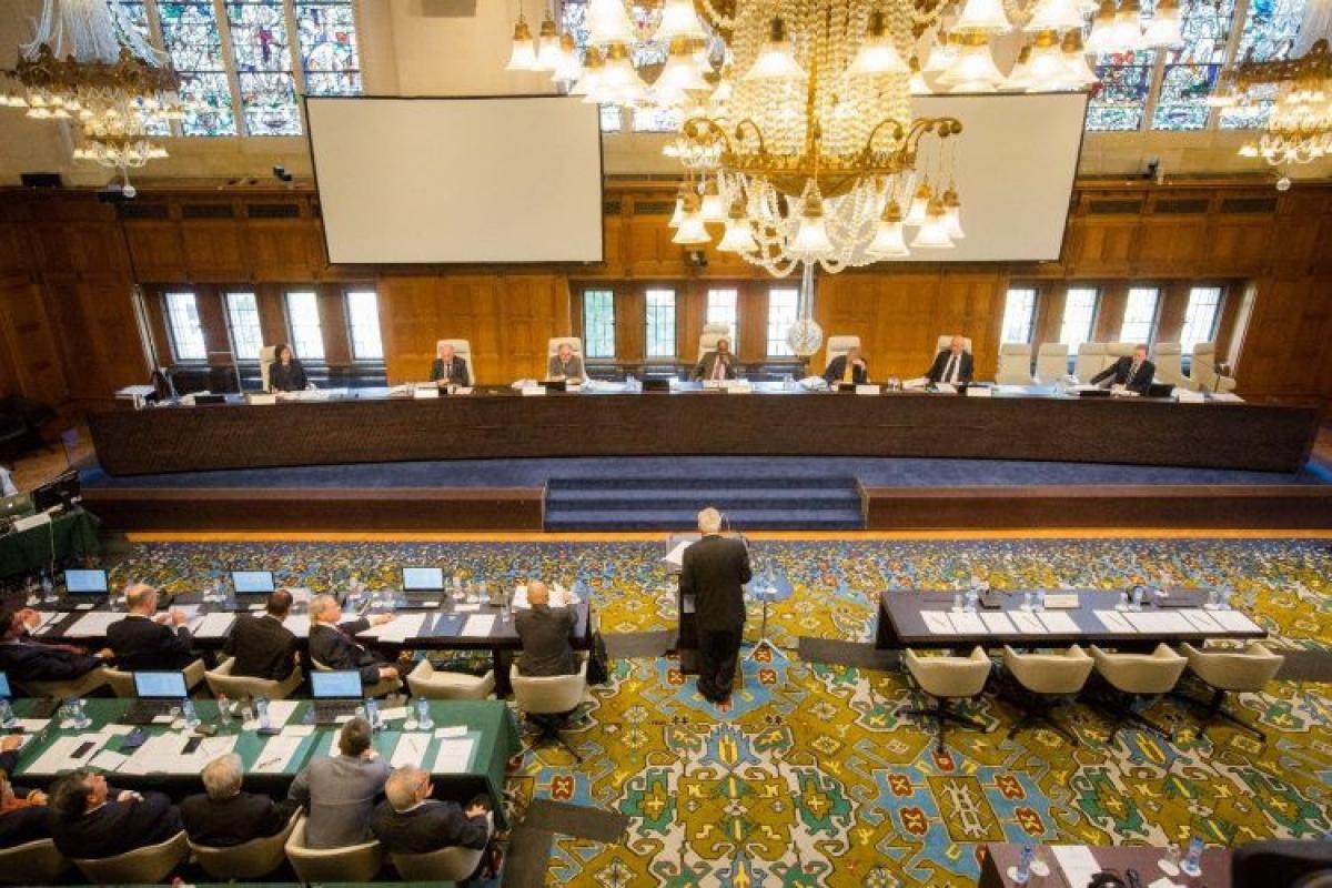 Trung Quốc có chân tại Tòa Luật Biển Quốc tế không ảnh hưởng đến phán quyết 2016 của Tòa trọng tài quốc tế. (Nguồn : pca-cpa.org)