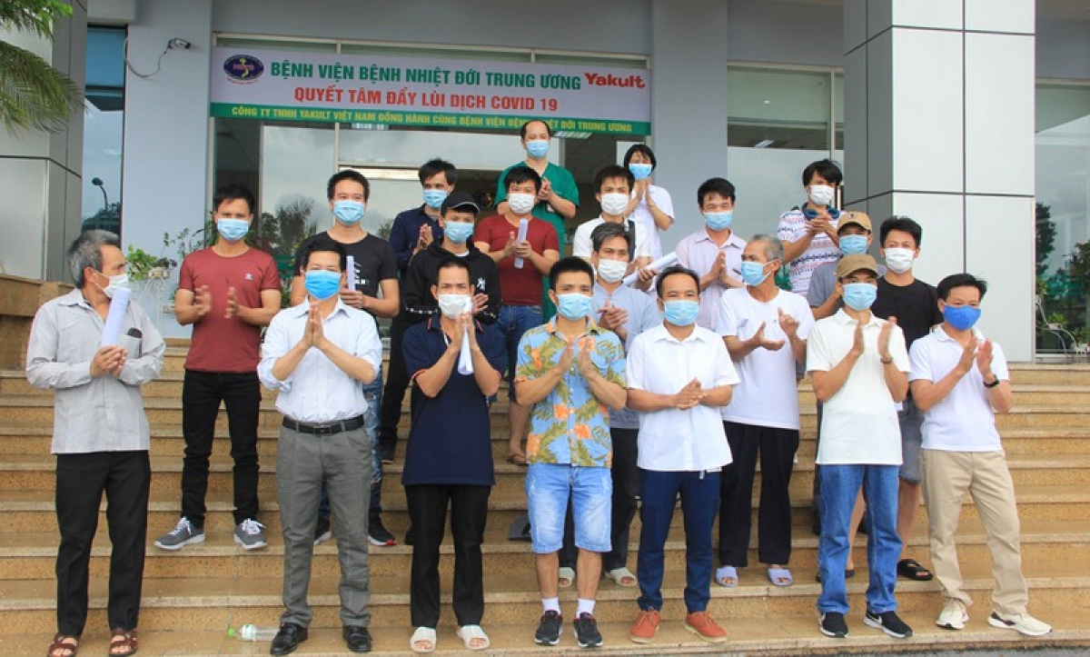 19 bệnh nhân mắc Covid-19 được công bố khỏi bệnh.