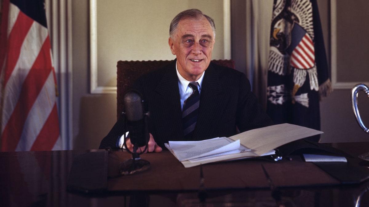Franklin D. Roosevelt. (Ảnh: History)