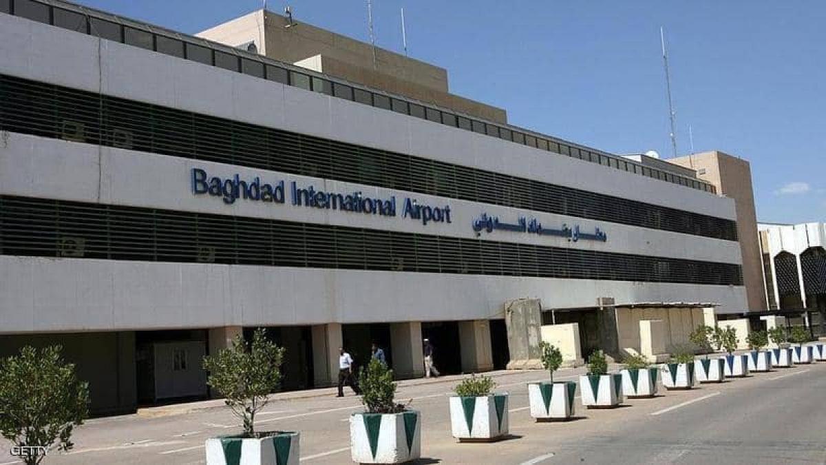 Sân bay quốc tế Baghdad. (Ảnh: Getty)