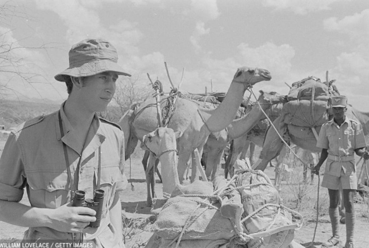 Năm 1971, Thái tử Charle có chuyến đi thăm thú 4 ngày tại thung lũng Ngare Ndare ở Kenya.