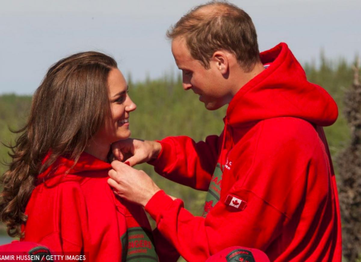 Kỳ nghỉ đầu tiên của Hoàng tử Harry và Công nương Kate ở hồ Blatchford, Canada. Cặp đôi diện đồ đôi, cùng cưỡi cano và học nghề làm da thủ công.