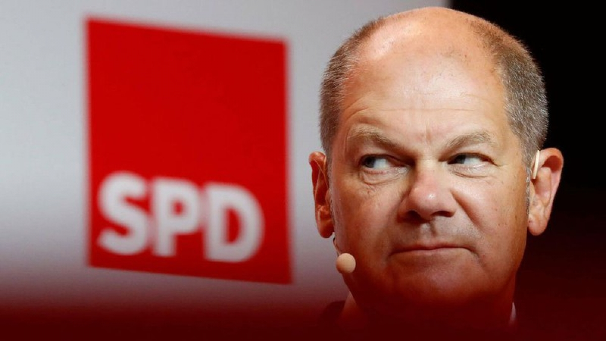 Bộ trưởng Tài chính Đức - Olaf Scholz. Ảnh: Reuters