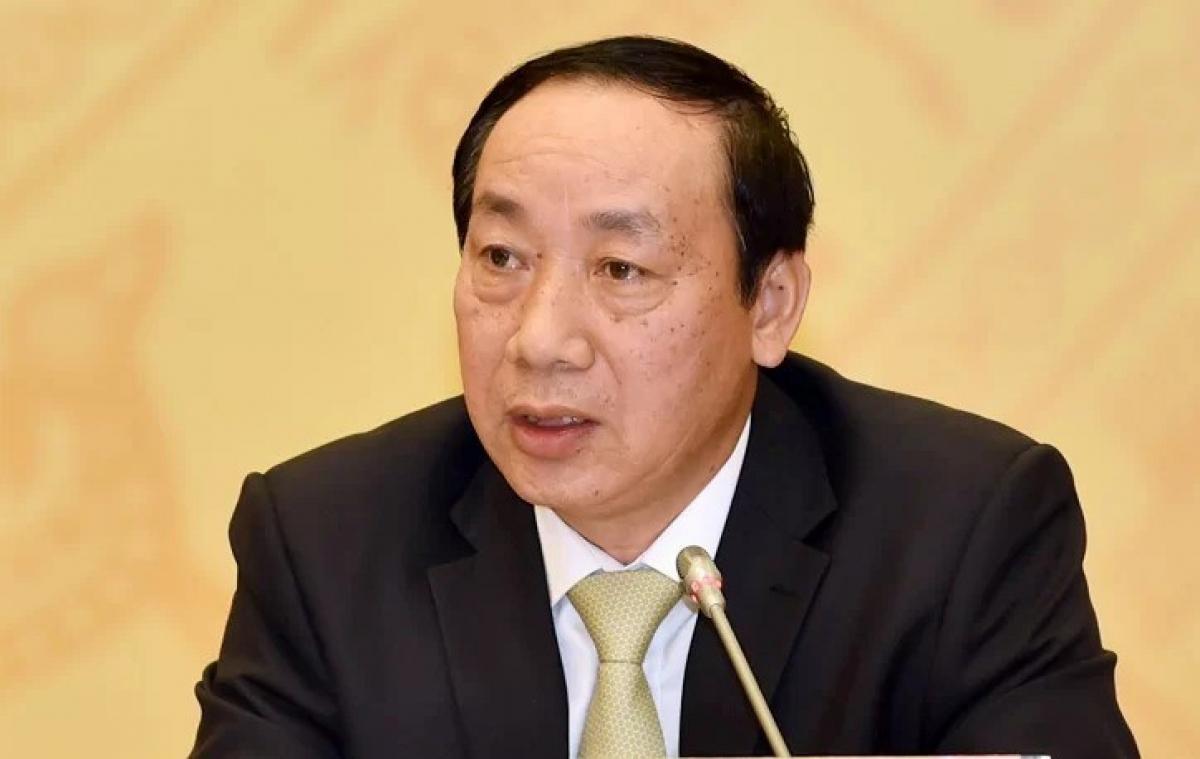 Cựu Thứ trưởng Bộ GTVT Nguyễn Hồng Trường