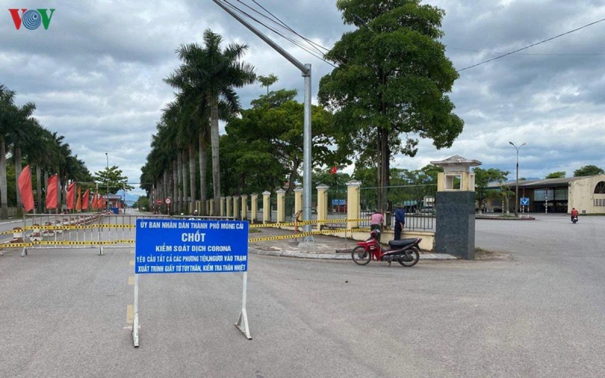 Quảng Ninh:Tái thiết lập việc kiểm soát người và phương tiện qua Trạm Km15