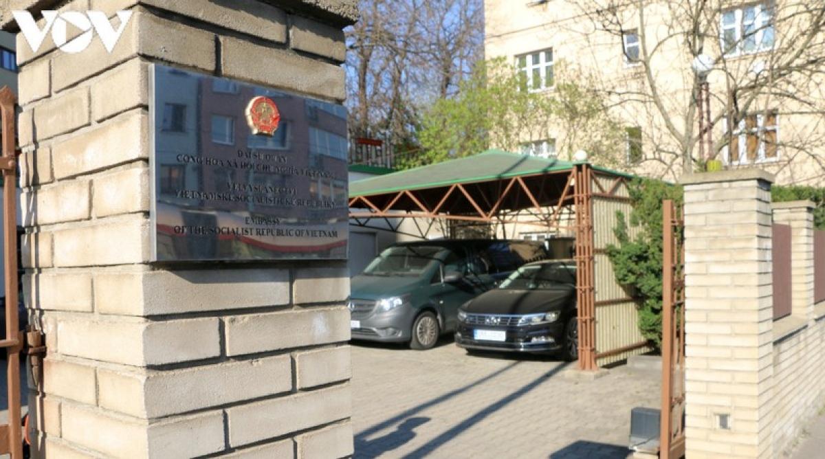 Trụ sở Đại sứ quán Việt Nam tại Cộng hoà Séc.
