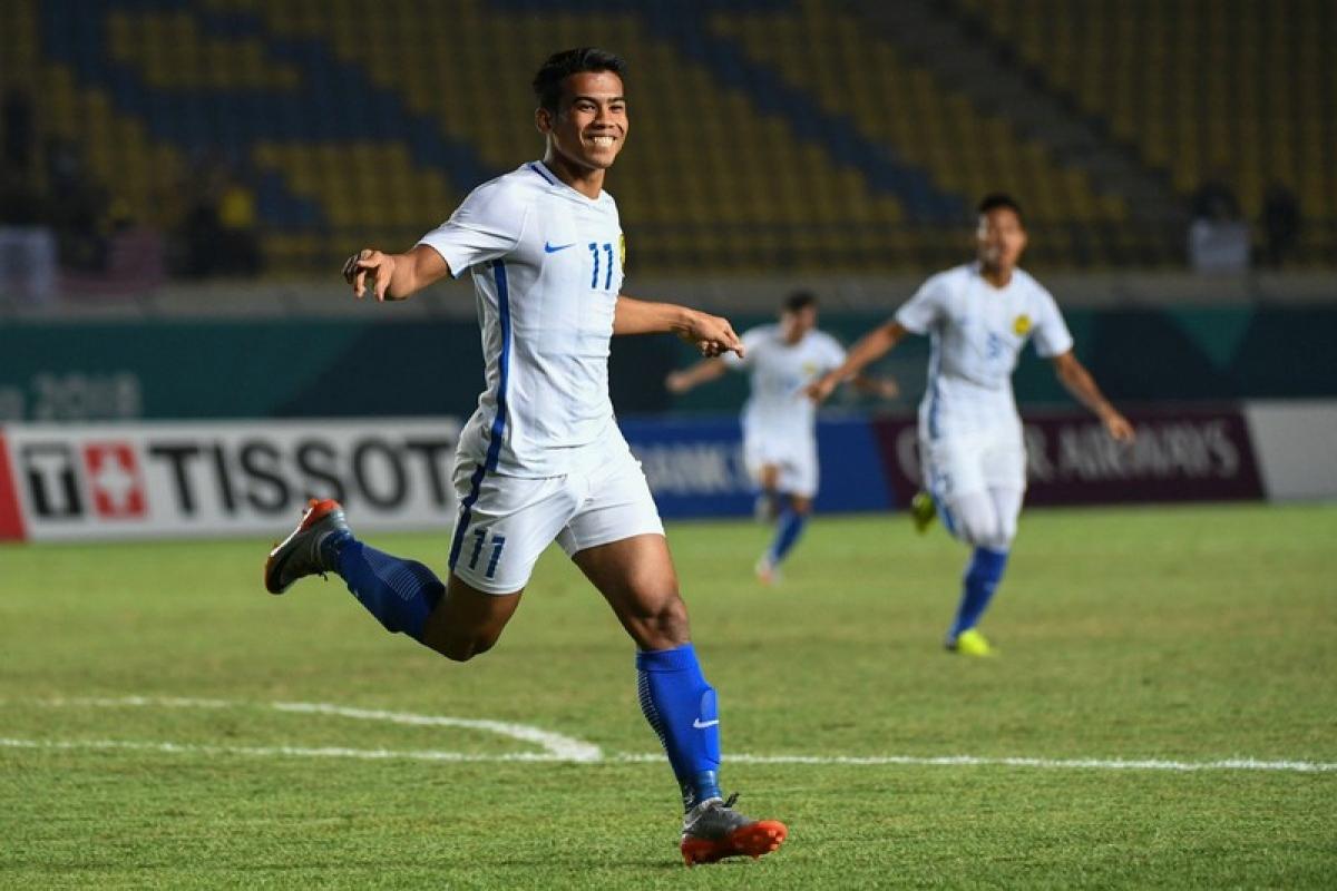 Olympic Malaysia bất ngờ đánh bại Olympic Hàn Quốc ngày này 2 năm trước. (Ảnh: AFC).
