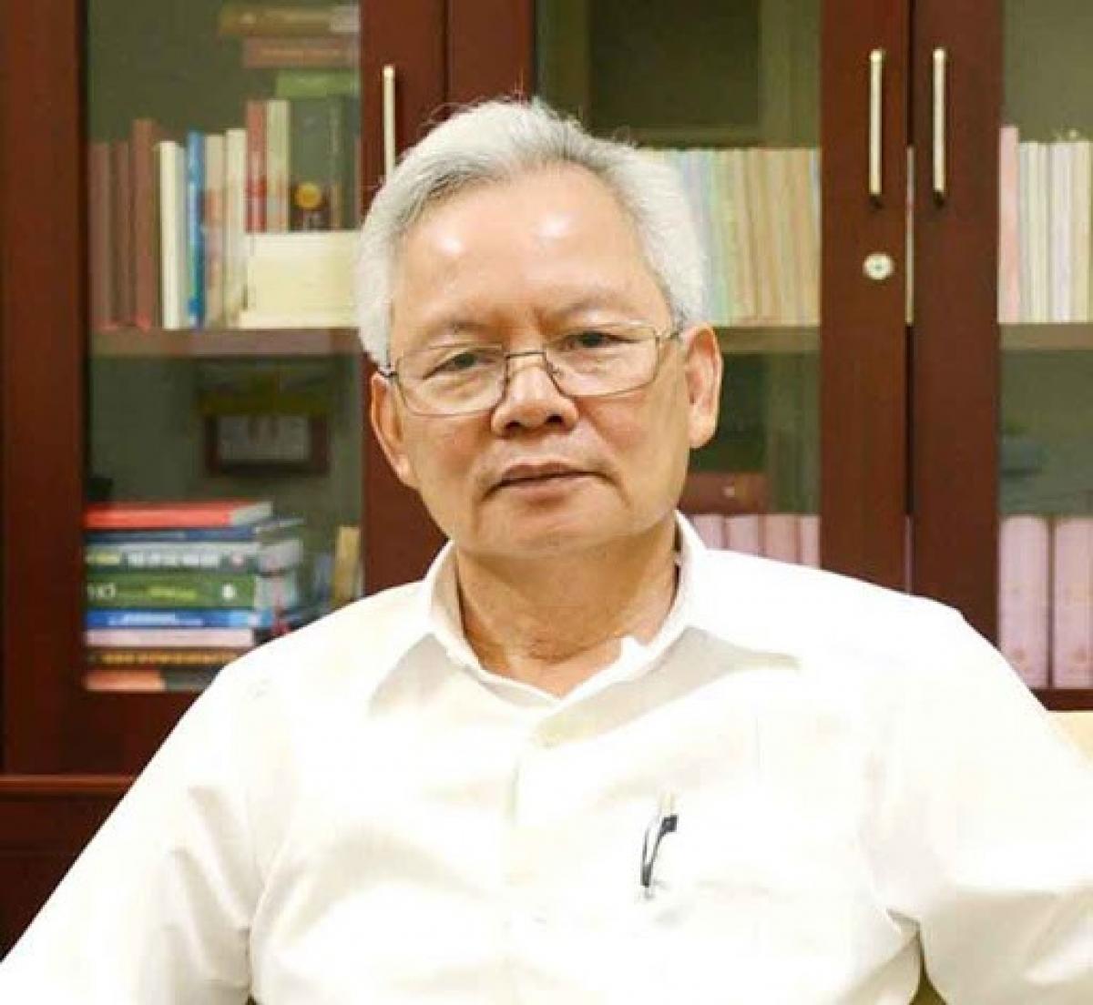 Giáo sư, Tiến sỹ Tạ Ngọc Tấn, Phó Chủ tịch Hội đồng Lý luận Trung ương. (Ảnh: QĐND)