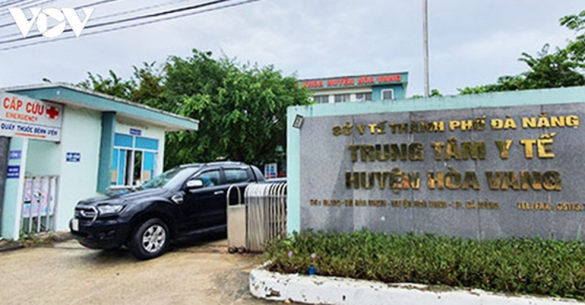 Bệnh viện dã chiến Hòa Vang nơi thực hiện ca mổ bắt con cho sản phụ mắc covid-19 thành công.