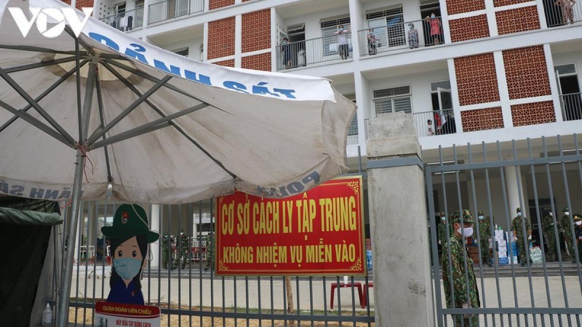 Ký túc xá phía tây TP Đà Nẵng trở thành nơi cách ly tập trung trường hợp F1.