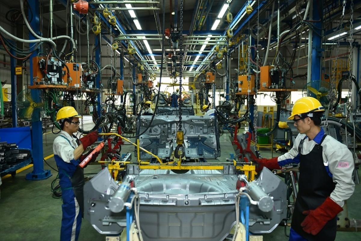 Chỉ số sản xuất công nghiệp tháng 8/2020 đạt mức tăng thấp nhất trong nhiều năm qua (Ảnh minh họa: KT)