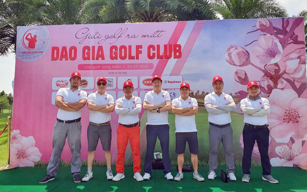 Giải Golf Cup Đào Gia lần I năm 2020.