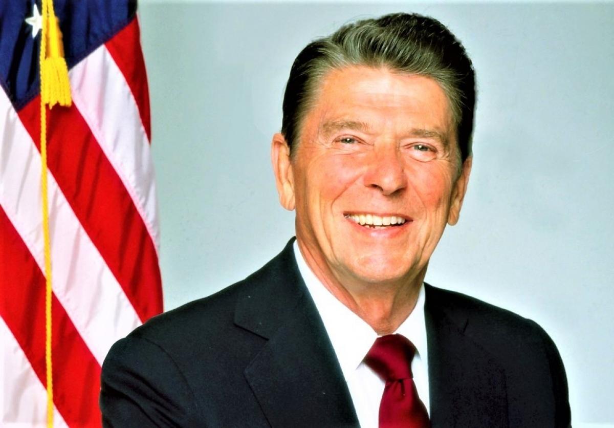 Tổng thống Ronald Reagan; Nguồn: history