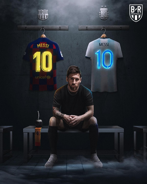 Lionel Messi trở thành tỷ phú bóng đá. (Ảnh: Bleacher Reports)