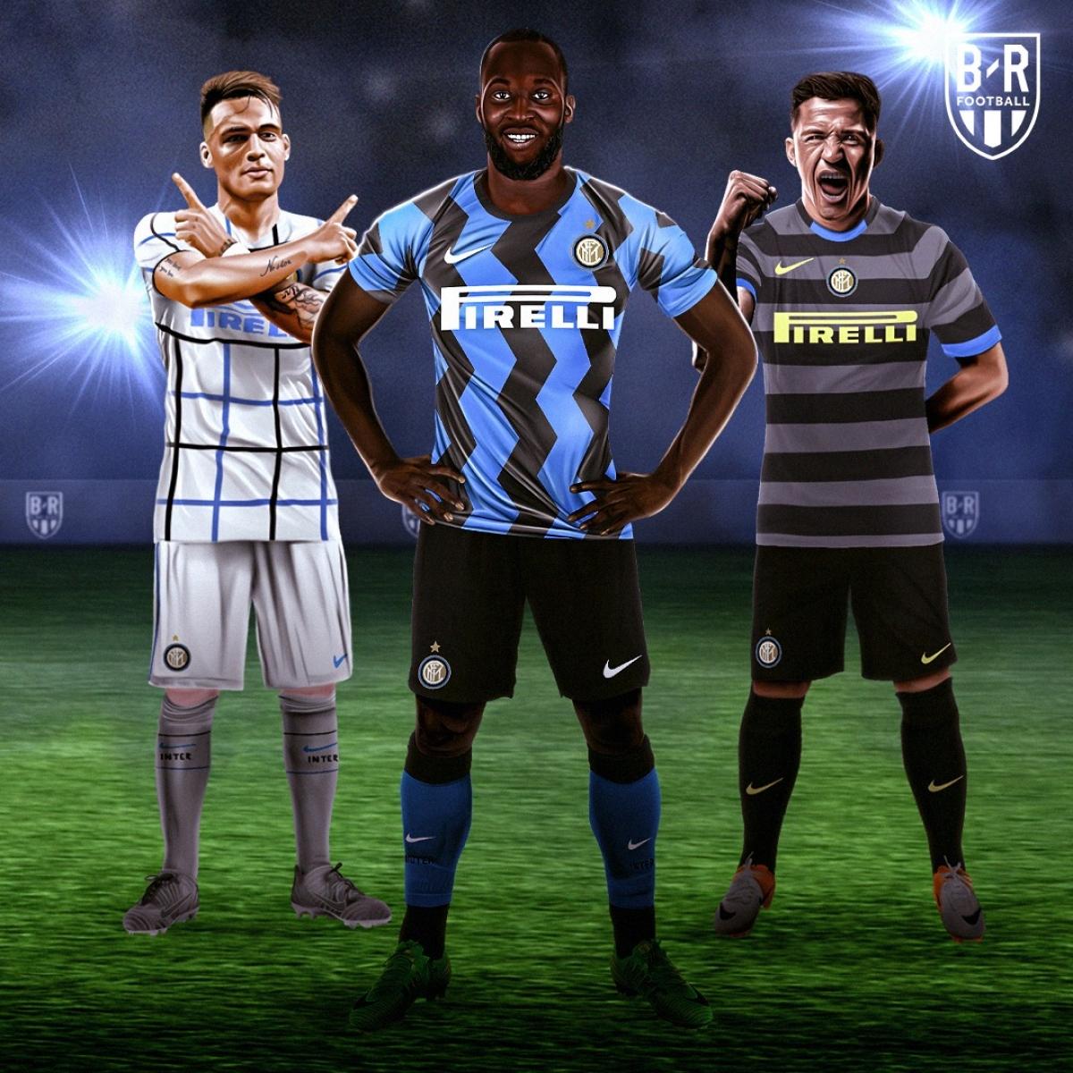 Ba mẫu trang phục của Inter Milan