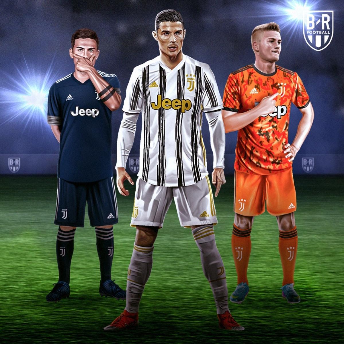 Ba mẫu trang phục của Juventus