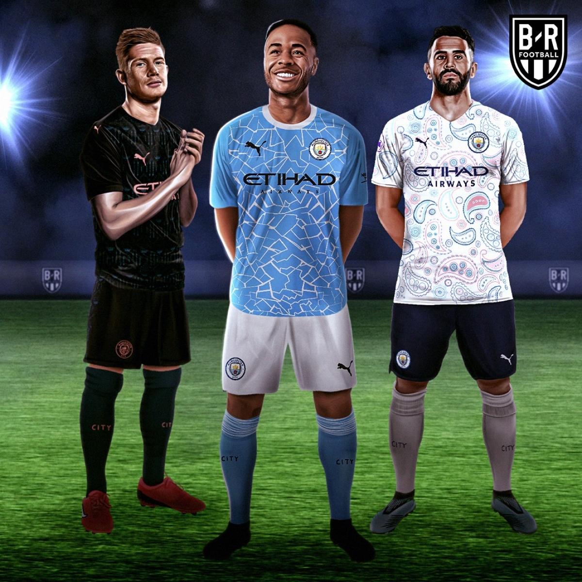 Ba mẫu trang phục của Man City