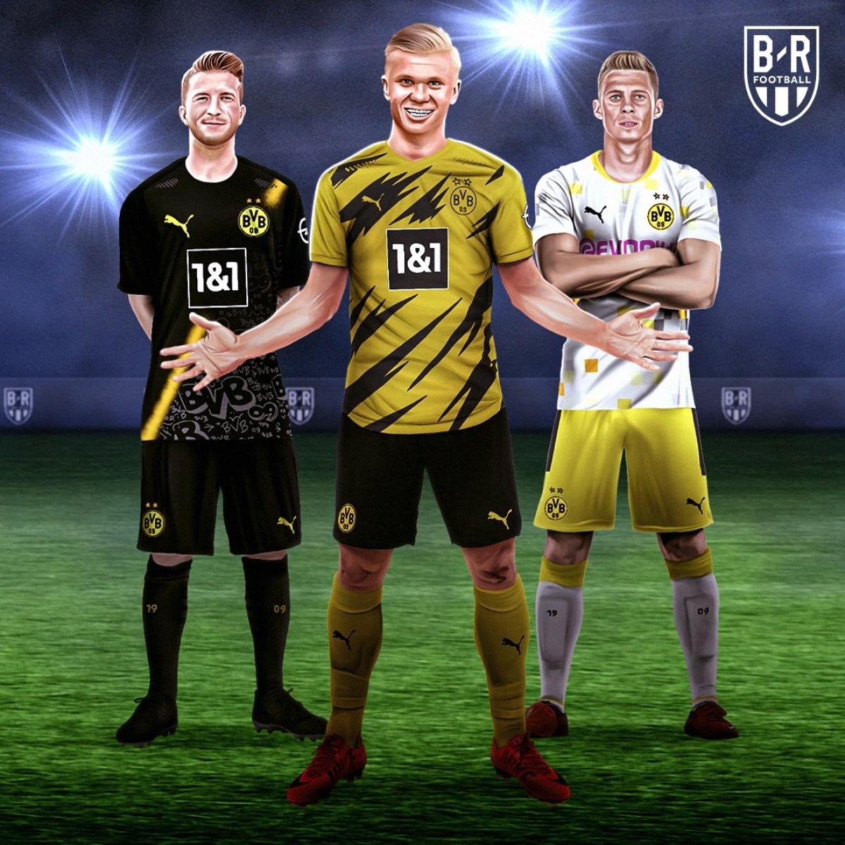 Ba mẫu trang phục của Dortmund