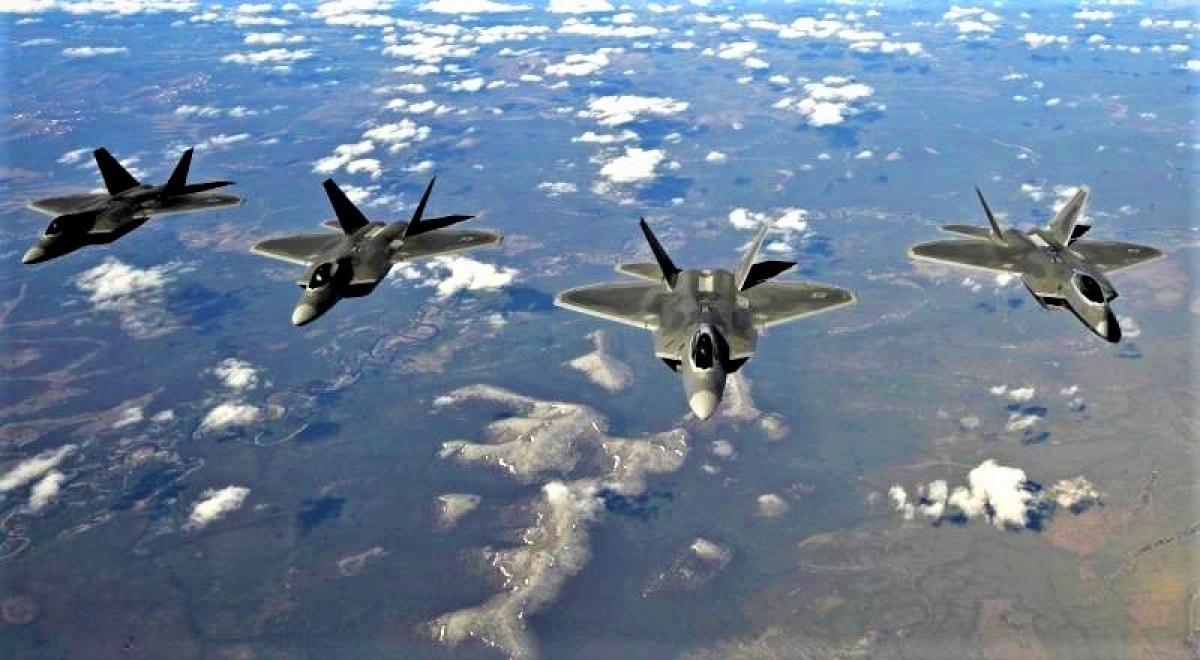 Không quân Mỹ có nhiệm vụ giành và duy trì ưu thế tuyệt đối trên không; Nguồn: topwar.ru