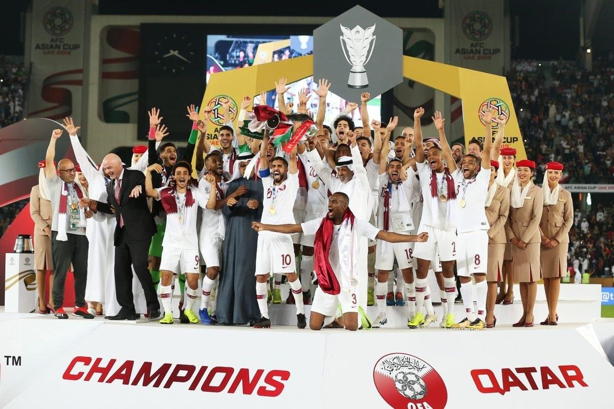 ĐT Qatar sẽ tham dự hai giải đấu lớn cấp ĐTQG trong năm 2021. (Ảnh: Getty).