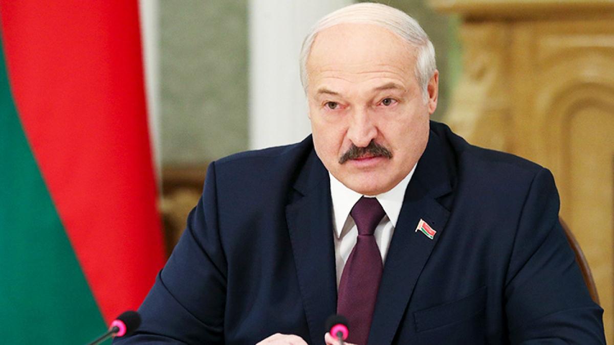 Tổng thống Belarus Lukashenko. Ảnh: AP.