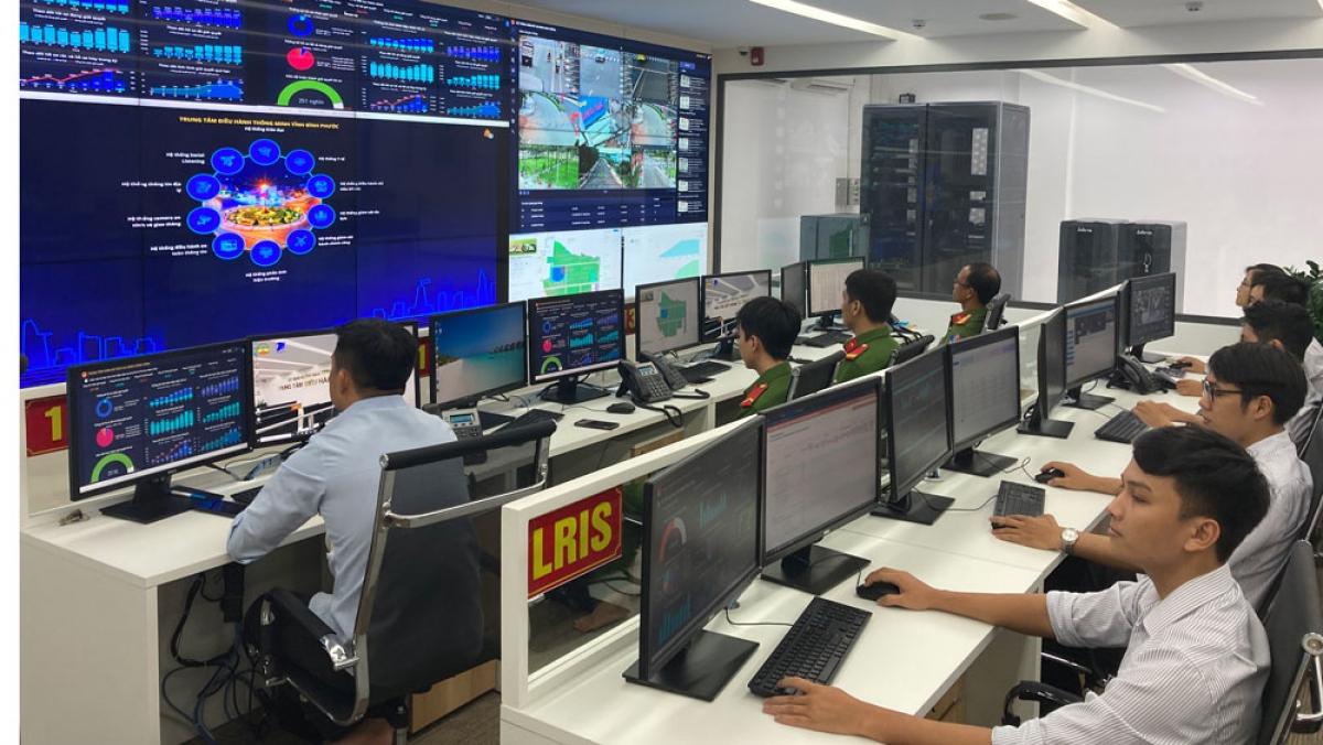 Trung tâm sử dụng AI để giúp giám sát, điều hành tình hình kinh tế - xã hội của tỉnh Bình Phước