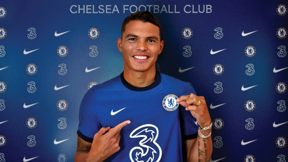 Hậu vệ: Thiago Silva (từ PSG tới Chelsea theo dạng chuyển nhượng tự do)