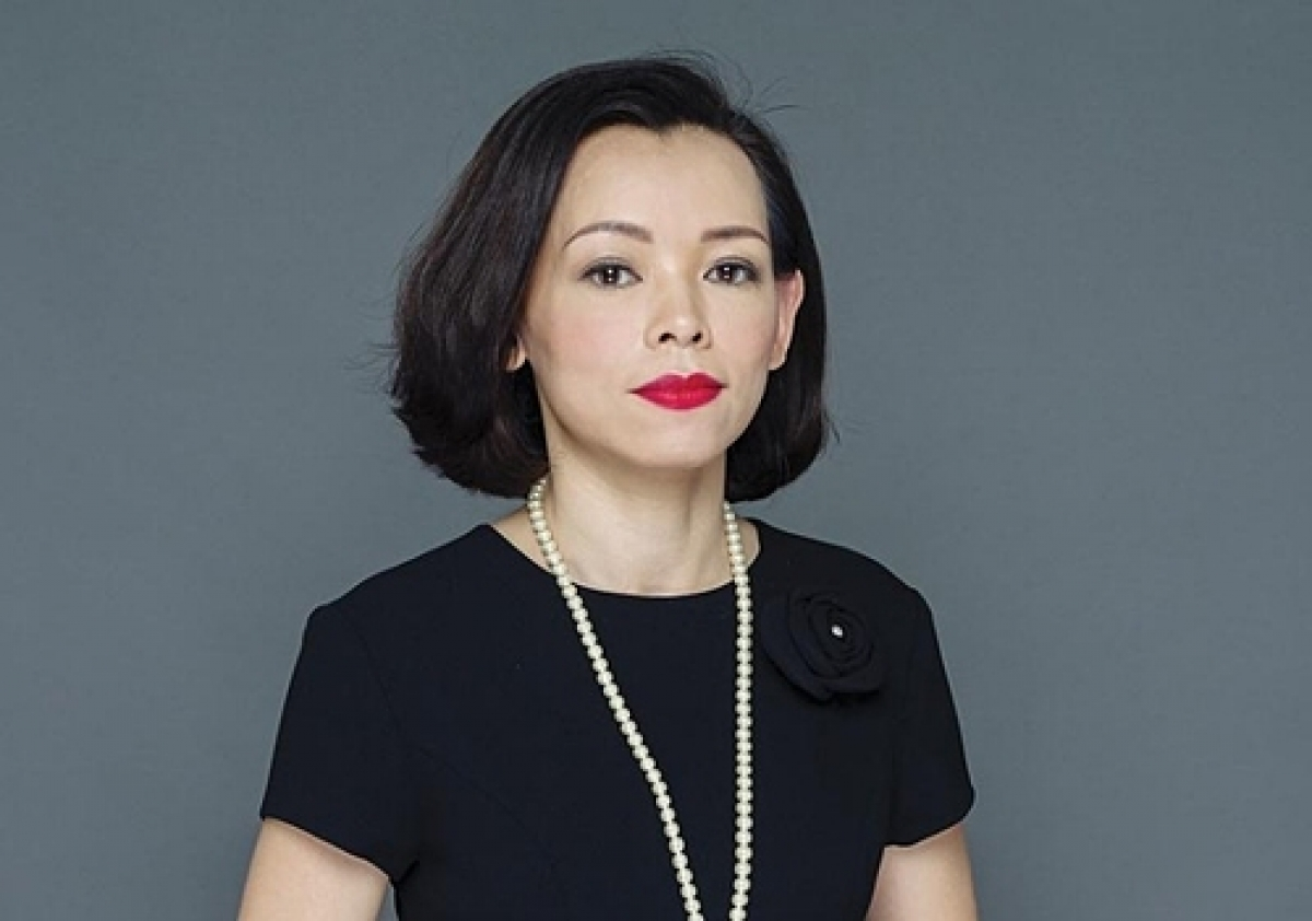 Chairwoman of FPT Retail Nguyen Bach Diep. Photo acquired by VnExpress.
