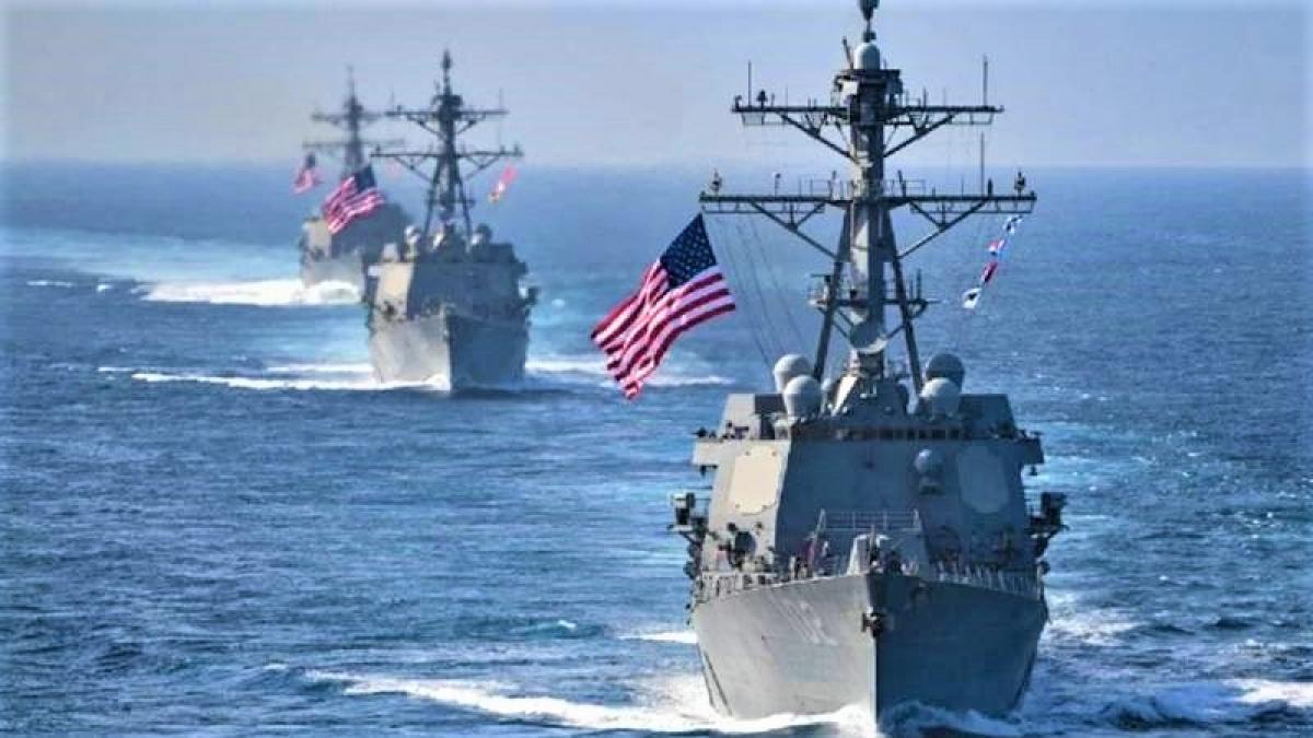 Hải quân Mỹ có nhiệm vụ chống ngầm và bảo vệ các tàu mặt nước; Nguồn: topwar.ru