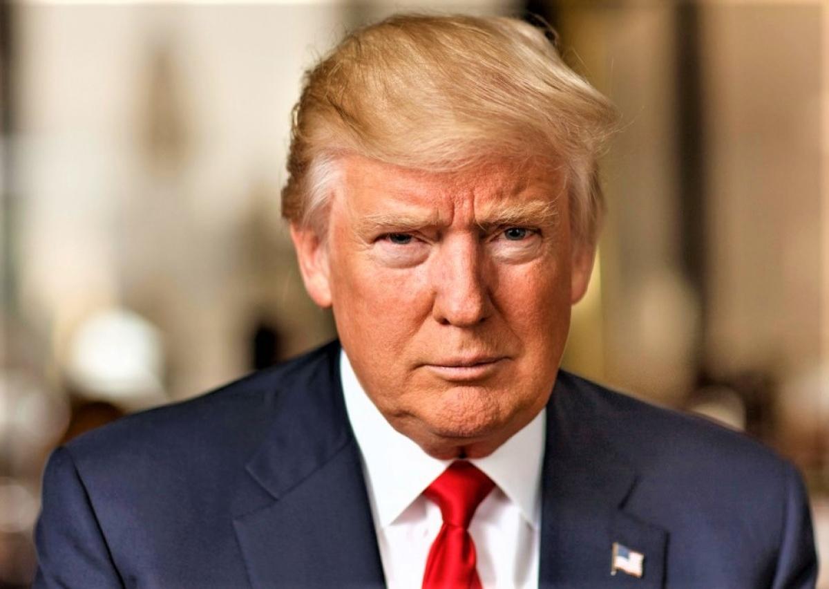 Tổng thống Donald Trump; Nguồn: history