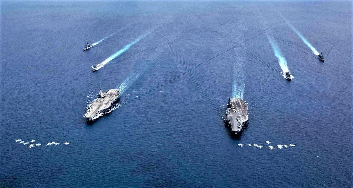 Mỹ đang tăng cường sự hiện diện quân sự tại Biển Đông; Nguồn: quelectrodealpro.com
