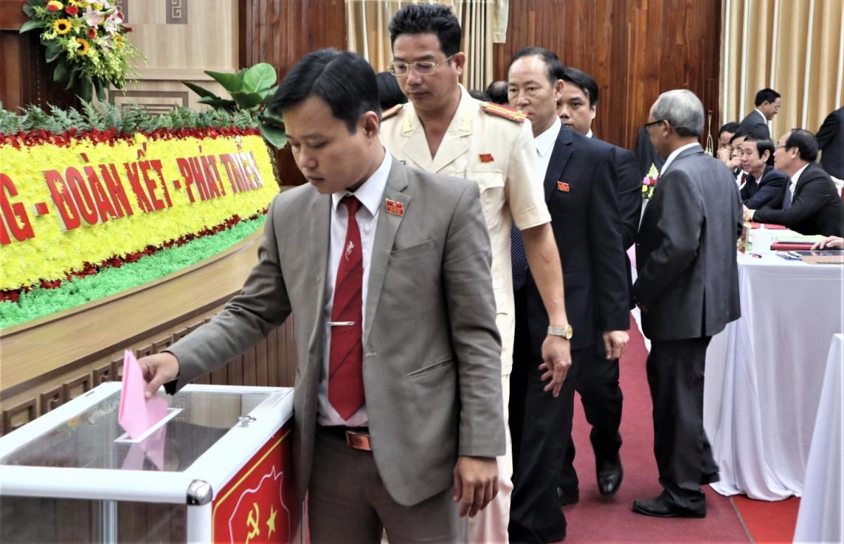 Bầu Ban Chấp hành Đảng bộ thành phố Tam Kỳ nhiệm kỳ mới