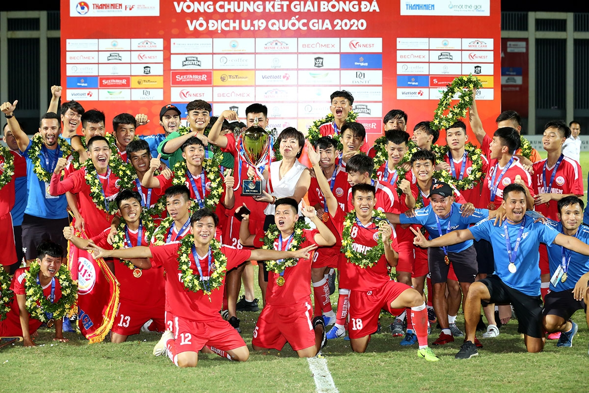 Mới đây nhất, đội bóng U19 PVF cũng đã đoạt chức vô địch Giải bóng đá U19 Quốc gia 2020.