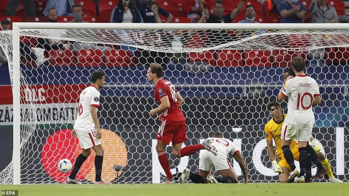Để thủng lưới trước, Bayern tấn công dồn dập và gỡ hòa 1-1 ở phút 34.