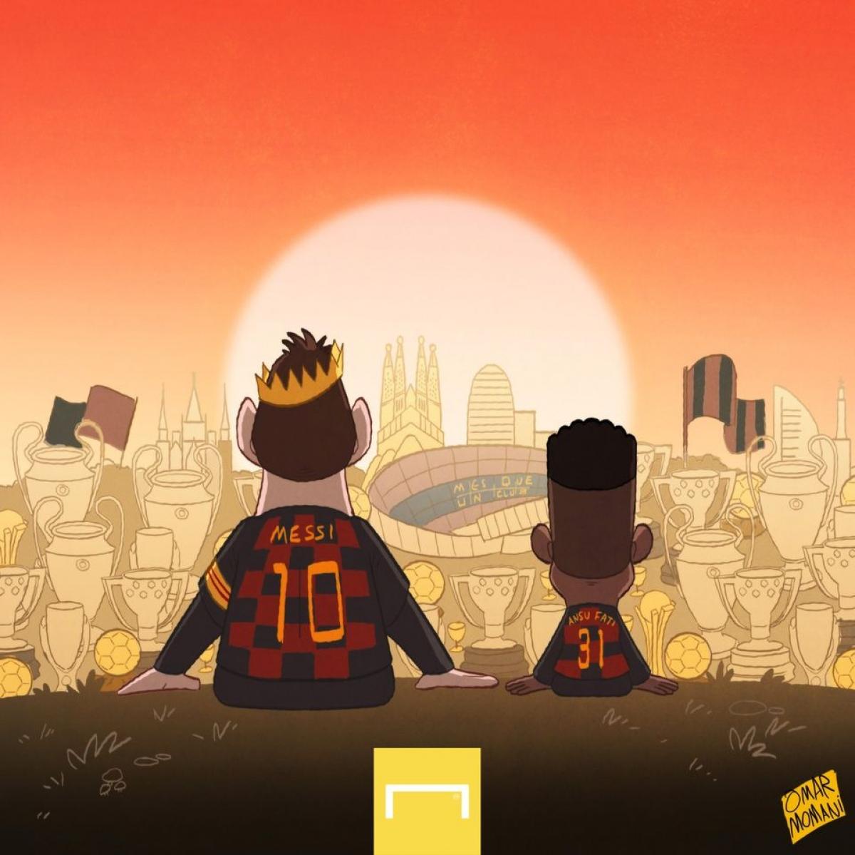 Messi đã tìm được truyền nhân ở Barca để có thể truyền dạy kinh nghiệm, bí kíp săn bàn của mình?