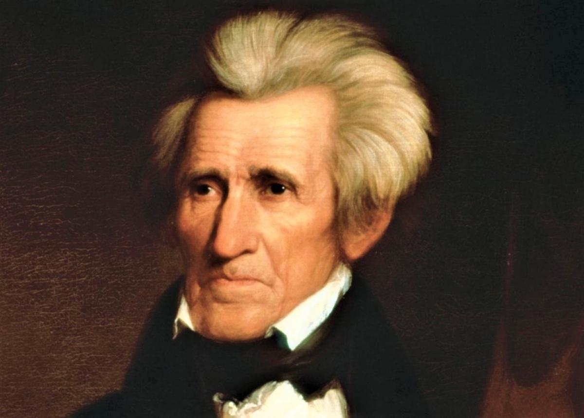 Tổng thống Andrew Jackson; Nguồn: history