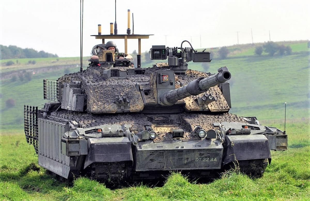Ý tưởng loại bỏ xe tăng khỏi trang bị của giới chức quốc phòng Anh liệu có đường đột?; Nguồn: wikipedia.org