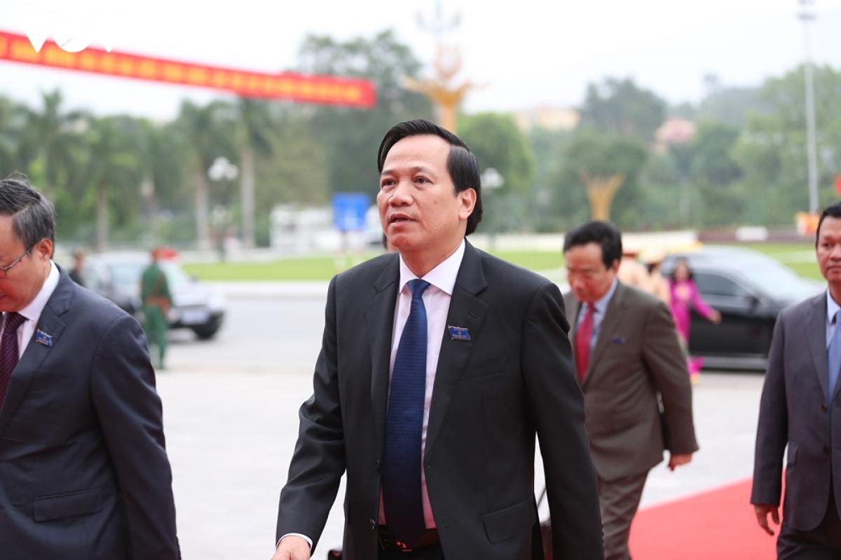 Bộ trưởng Bộ Lao động, Thương binh xã Xã hội Đào Ngọc Dung.