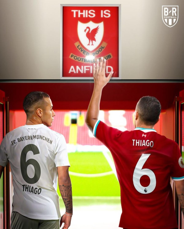 Thiago đã ở rất gần Liverpool (Ảnh: Bleacher Report).