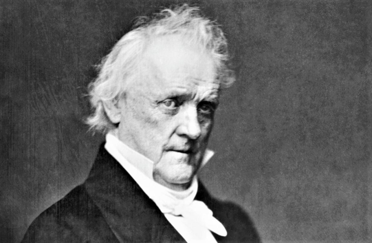 Tổng thống James Buchanan; Nguồn: history