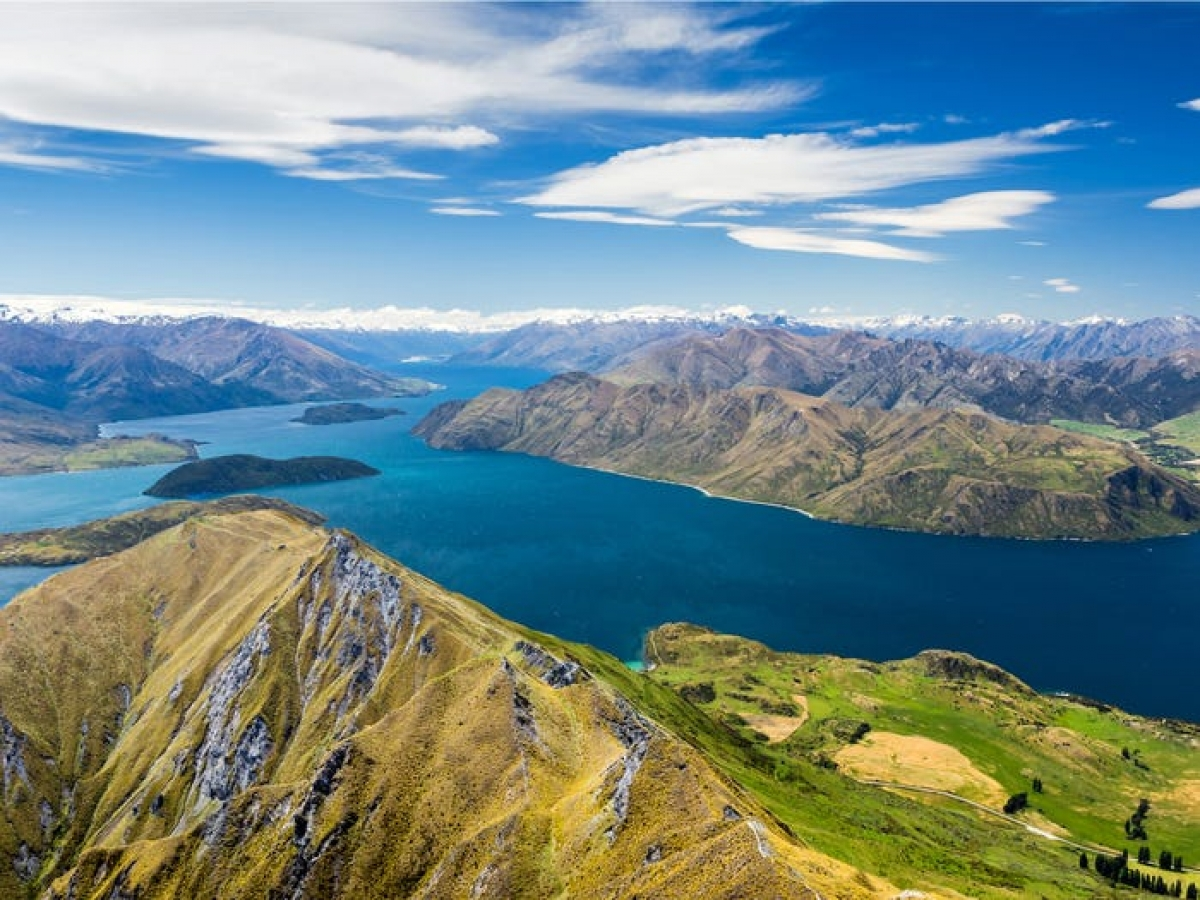 Du lịch New Zealand.