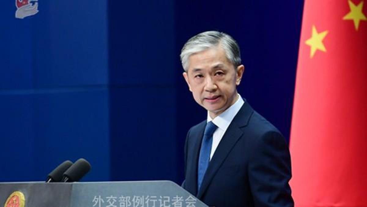 Người phát ngôn Bộ Ngoại giao Trung Quốc Uông Văn Bân. Ảnh: China.org